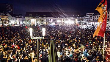 Czuwanie dla ofiar zamachu w Hanau