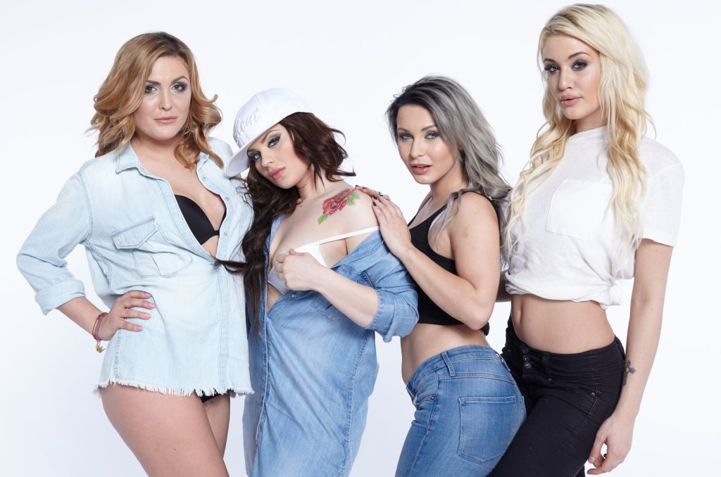 Magda, Ewelina, Mała Ania, Klaudia