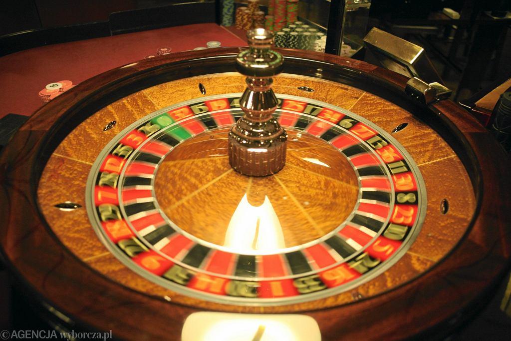 Ruletka w kasynie