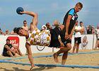 Szczypiorniści walczyli o tytuł mistrza Polski na plaży w Gdańsku