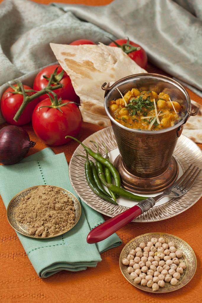 Punjabi Chana Masala według przepisu restauracji Ganesh Ursynów / fot. Ganesh Ursynów