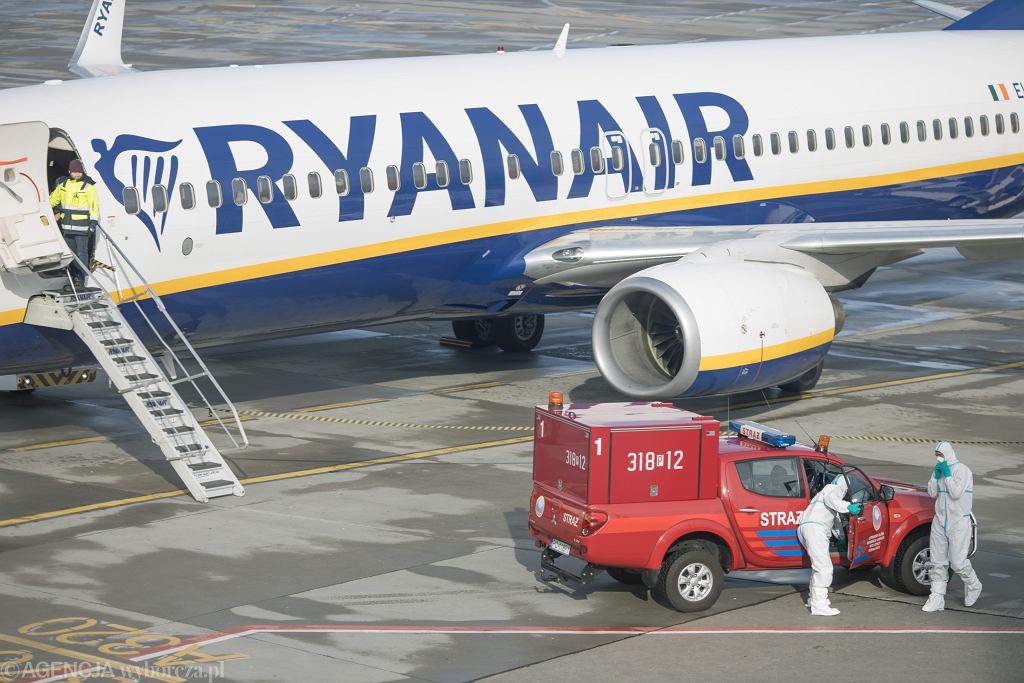 Ryanair zawiesza loty do Włoch