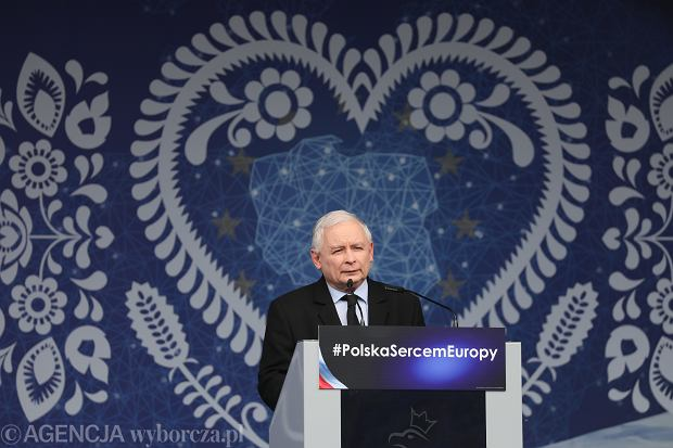 Jarosław Kaczyński w Pułtusku
