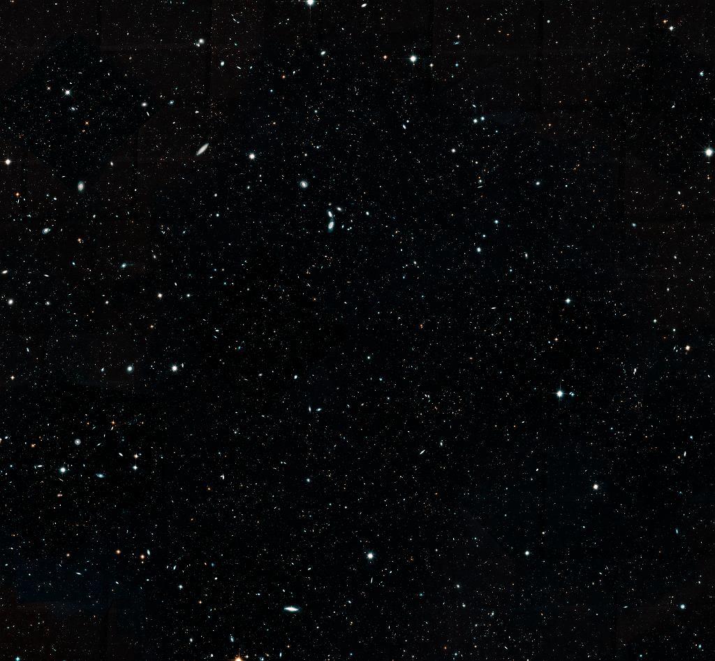 Hubble Legacy Field - największe tak szczegółowe zdjęcie wszechświata