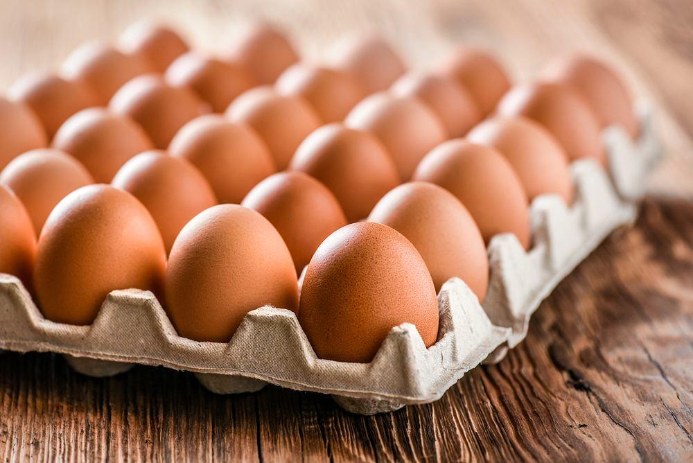 Jajka najlepiej przechowywać w wytłaczankach lub innych pojemnikach