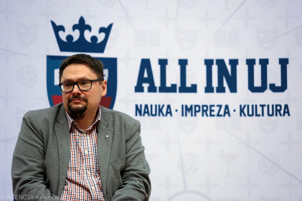 Tomasz Terlikowski, spotkanie na UJ, luty 2018