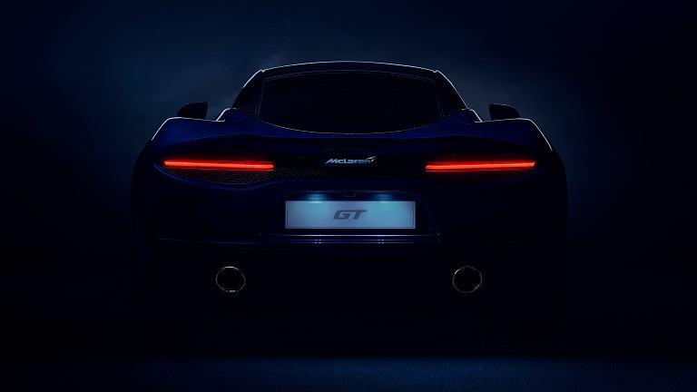 Pierwsze oficjalne zdjęcie McLarena GT