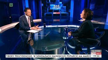 """Program """"Dziś wieczorem"""" w TVP Info"""