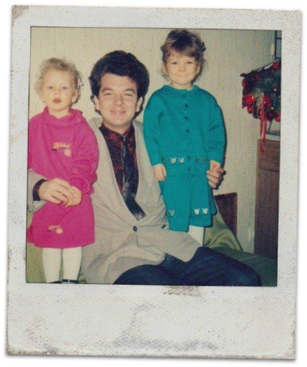 Dumny tata Radwański i dwie wspaniałe córki