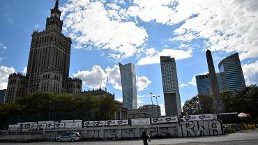 Plac Defilad kolo PKIN w Warszawie