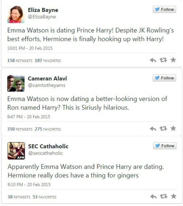 Hermiona umawia się z księciem Harrym