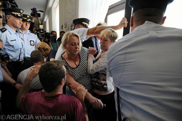 37. dzień protestu rodziców dorosłych osób niepełnosprawnych w Sejmie