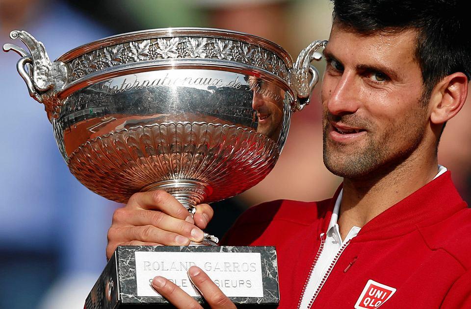 Novak Djoković triumfował w Rolandzie Garrosie w 2016 r.
