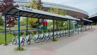 Stacja Sosnowieckiego Roweru Miejskiego