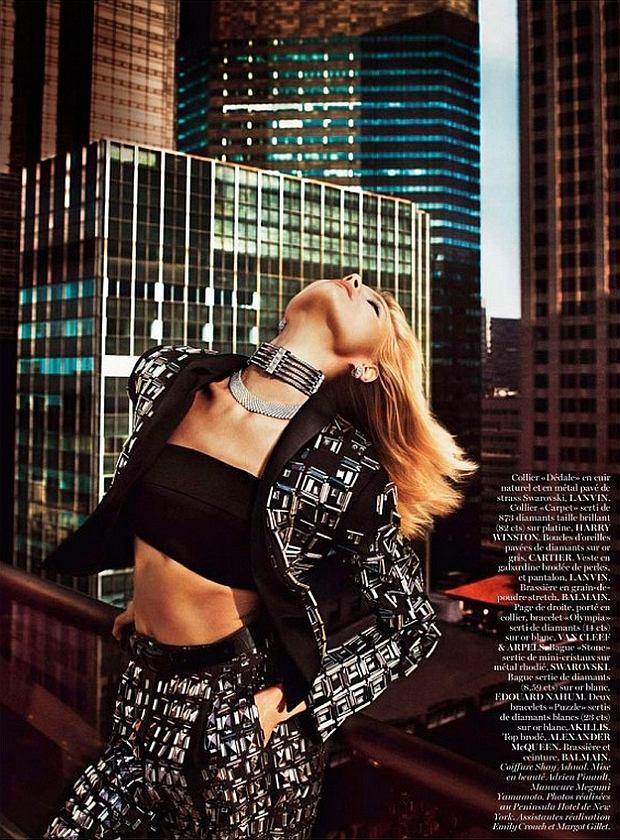 """Magdalena Frąckowiak w lutowym numerze magazynu """"Vogue"""""""