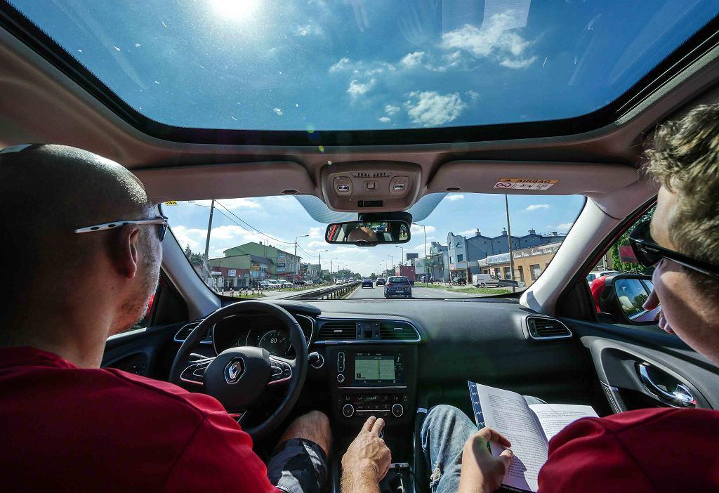 w drodze ku przygodzie na pokładzie Renault Kadjar
