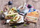 Przepis na grzanki z żółtym serem Maasdamer i słodkimi figami