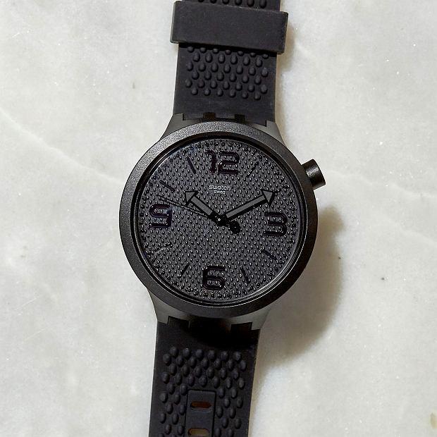 Swatch Big Bold BBBlack, nr ref. SO27B100, 405 zł