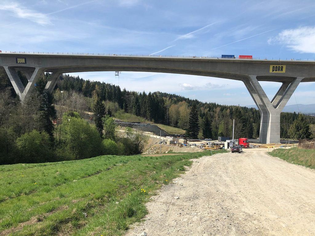 11 czerwca ruszają próby obciążeniowe wiaduktu na 'Zakopiance'