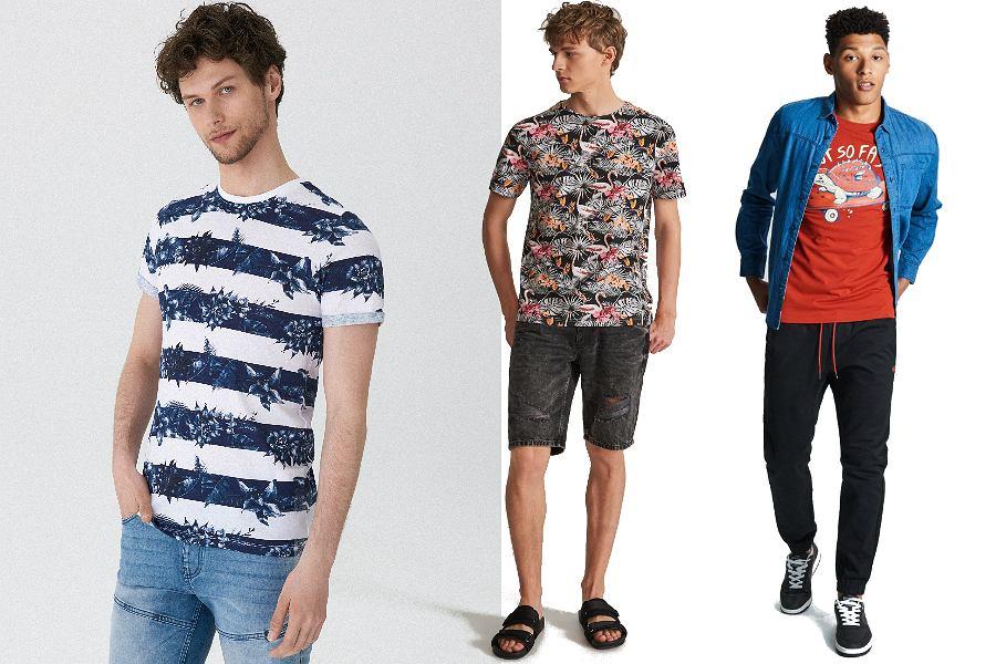 T-shirty męskie na lato