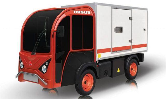 Prototyp pojazdu elektrycznego Ursusa