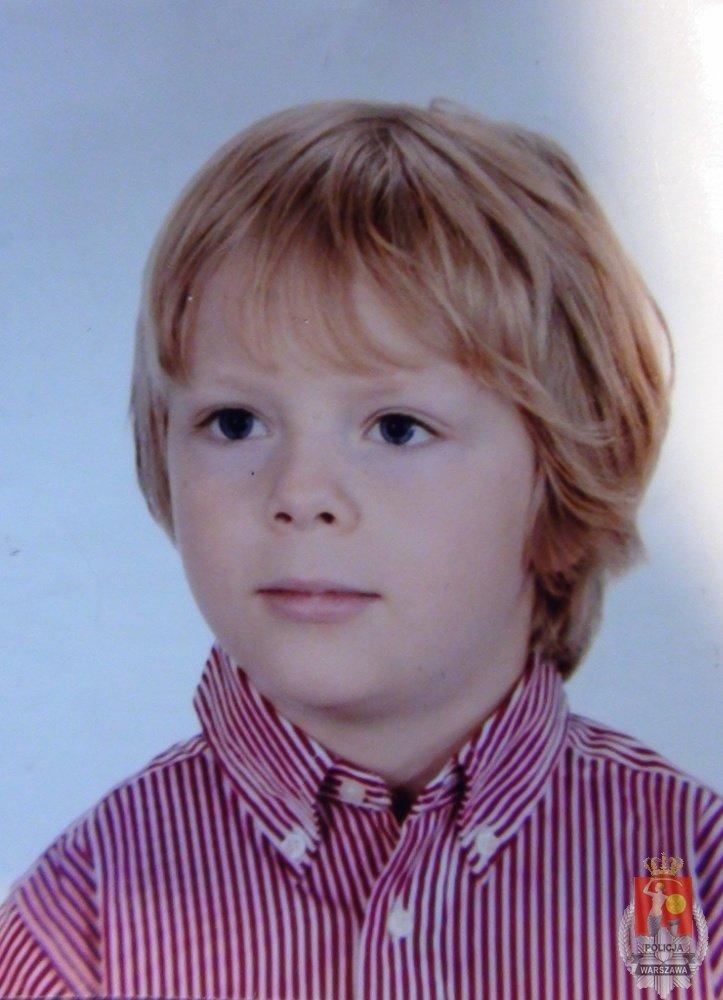 Poszukiwany 8-letni Fryderyk Pawłowski