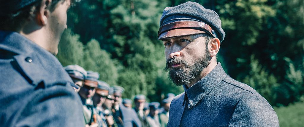 Kadr z filmu 'Piłsudski', reż. Michał Rosa