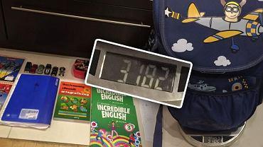Ile ważą plecaki polskich uczniów?