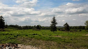 Tereny przy ul. Podłużnej, na których ma powstać nowe osiedle