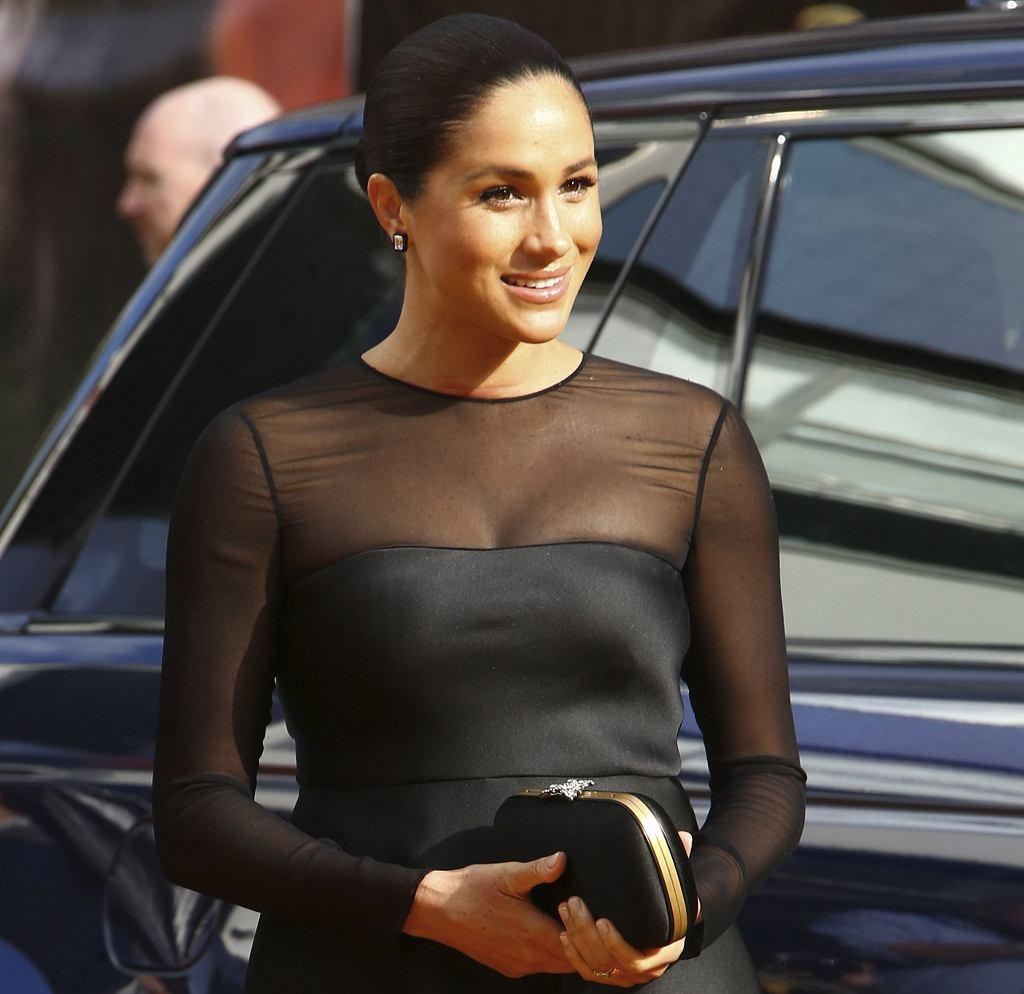 Księżna Meghan na premierze filmu 'Król Lew' w Londynie