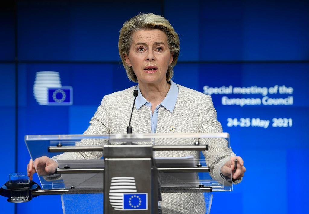 Ursula von der Leyen, przewodnicząca Komisji Europejskiej