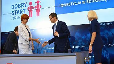 Konferencja prasowa  Dobry Start  300 Dla Ucznia  w Warszawie (12.06.2018)