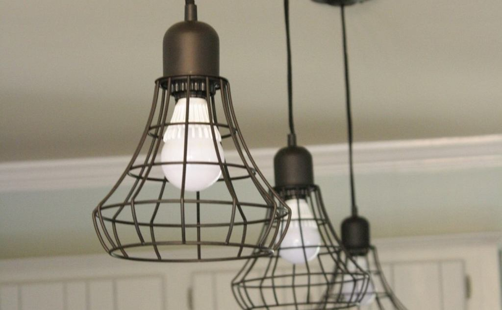 Metalowe lampy
