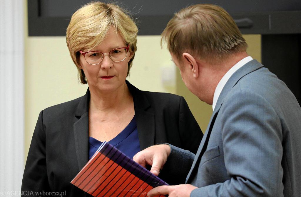 Kandydatka na stanowisko Rzecznika Praw Dziecka Agnieszka Maria Dudzińska