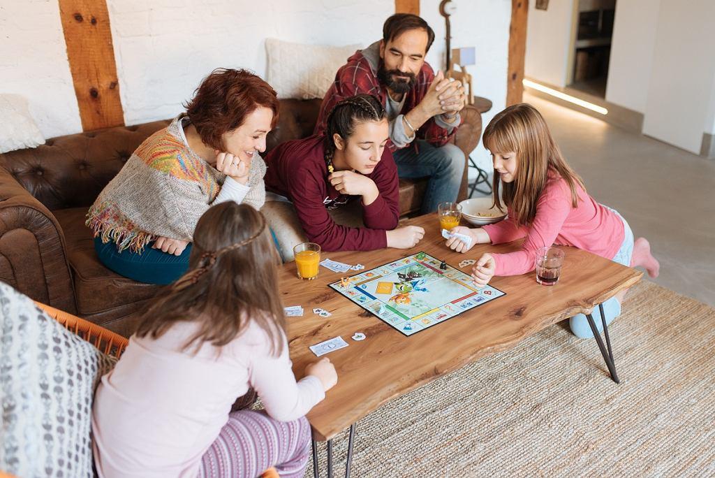 Gry planszowe zintegrują rodzinę