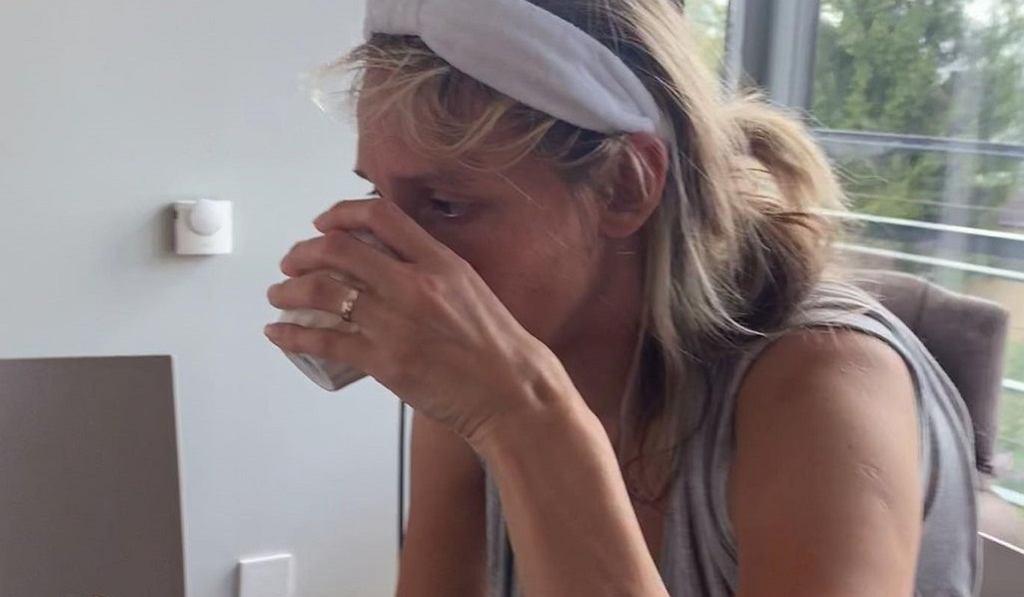 Aleksandra Żebrowska odpowiedziała Kaczorowskiej jednym zdjęciem. Fanka: rzeczywistość matki w legginsach