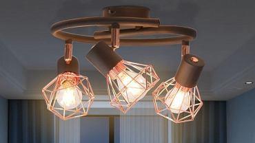 Lampa sufitowa z 3 żarówkami
