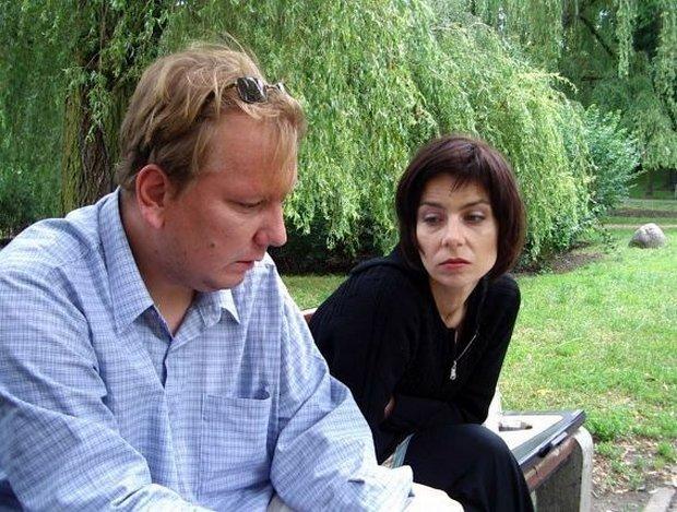 Tomasz Preniasz i Agata Kulesza