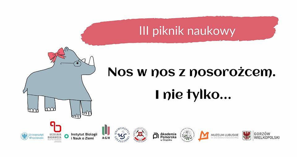 Co słychać u gorzowskiej Stefanii? Wystawa 'Nos w nos z nosorożcem. I nie tylko.' oraz piknik naukowy