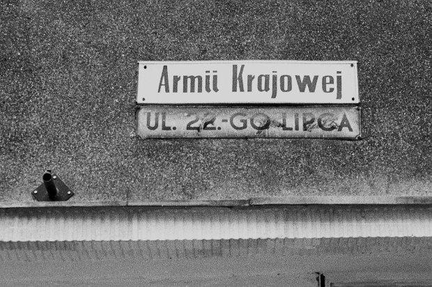 PRZELOM ROKU 1991 - 1992 - GDYNIA - ULICA ARMII KRAJOWEJ DAWNIEJ 22 LIPCA FOT PIOTR KAJMER /AFK  (elblag)  XFS
