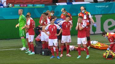 Christian Eriksen reanimowany na murawie podczas meczu Dania - Finlandia