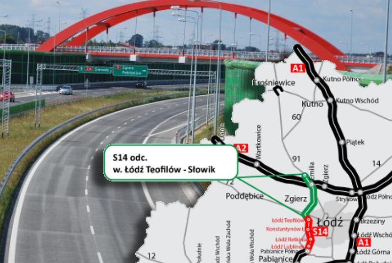 Umowa na fragment drogi S14 podpisana