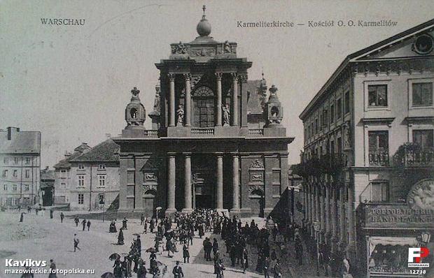 Kościół O.O. Karmelitów, 1916 rok