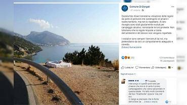 Turyści zapłacili karę za spanie na materacu pod gołym niebem