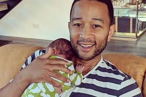 John Legend z synem