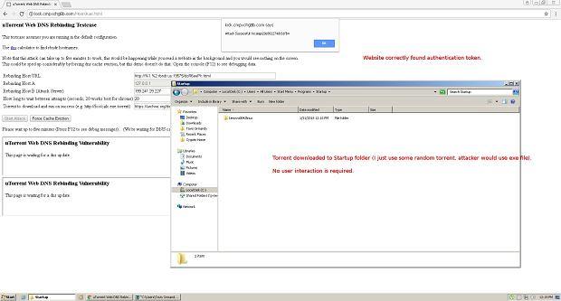 Google ostrzega przed dziurą w uTorrent