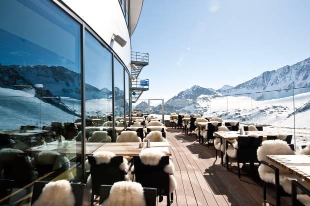 Schaufelspitz: obiad na 2900 m