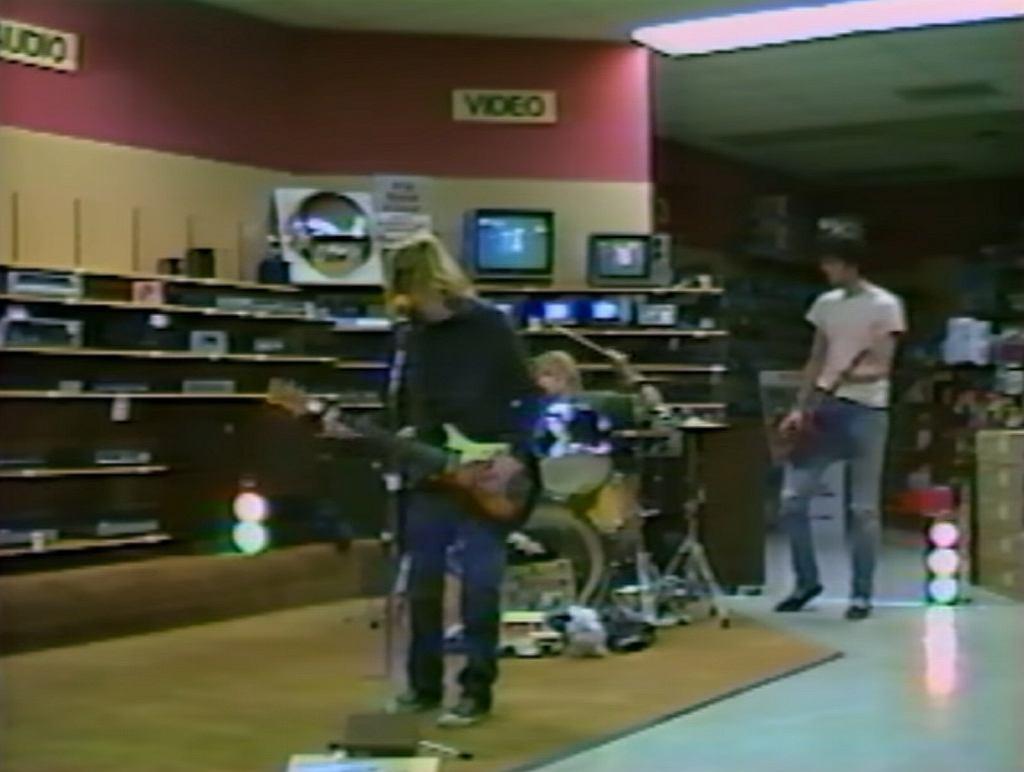 Nirvana na archiwalnym nagraniu z 1988 roku