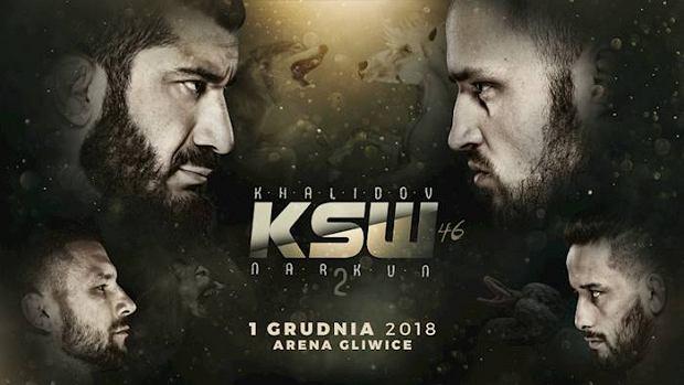 KSW 46. Hitowa walka Mamed Khalidov - Tomasz Narkun [NA ŻYWO]