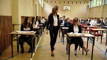 Matura w II Liceum Ogólnokształcące w Poznaniu (maj 2016)